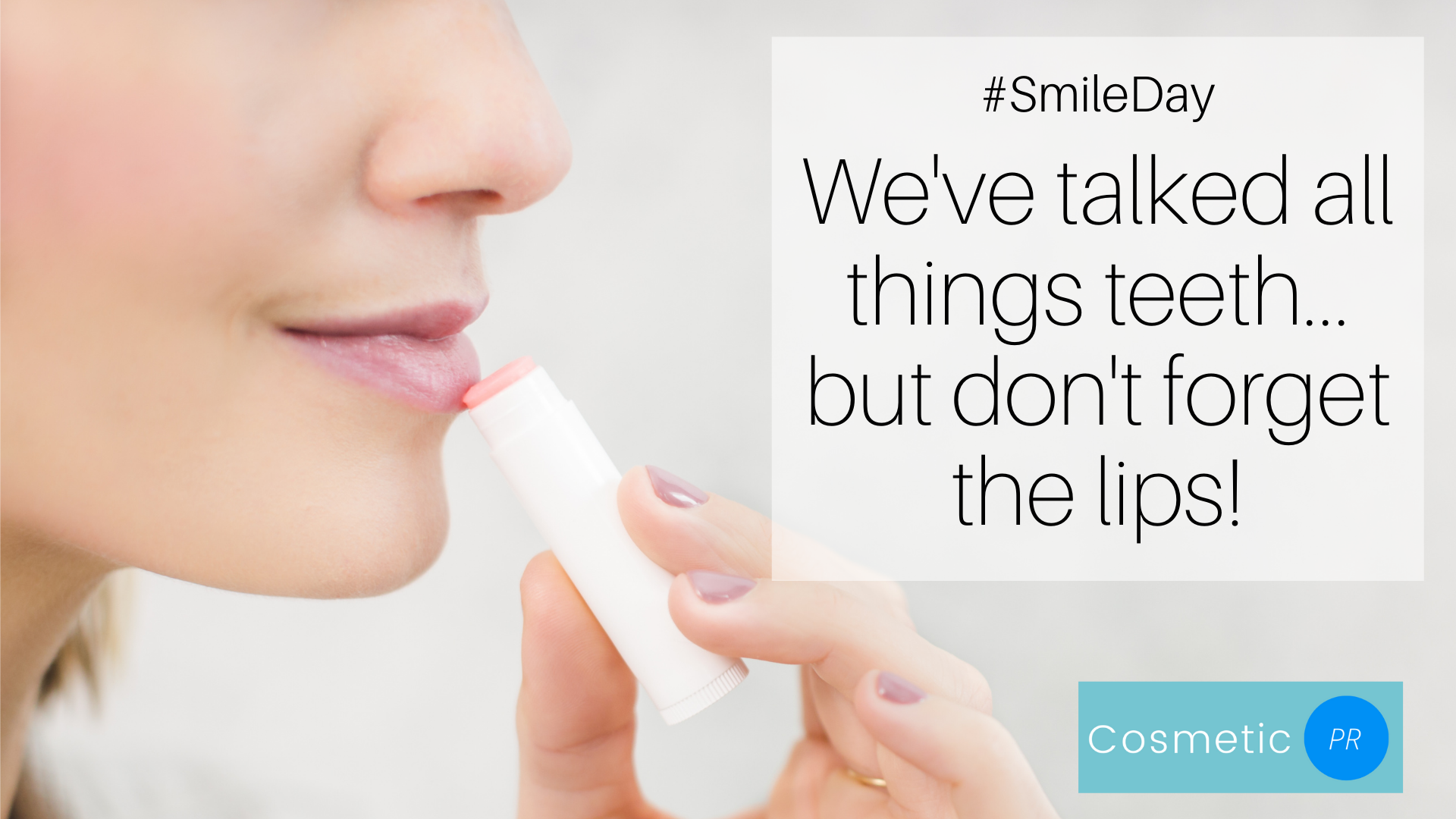 October 2nd is World Smile Day!