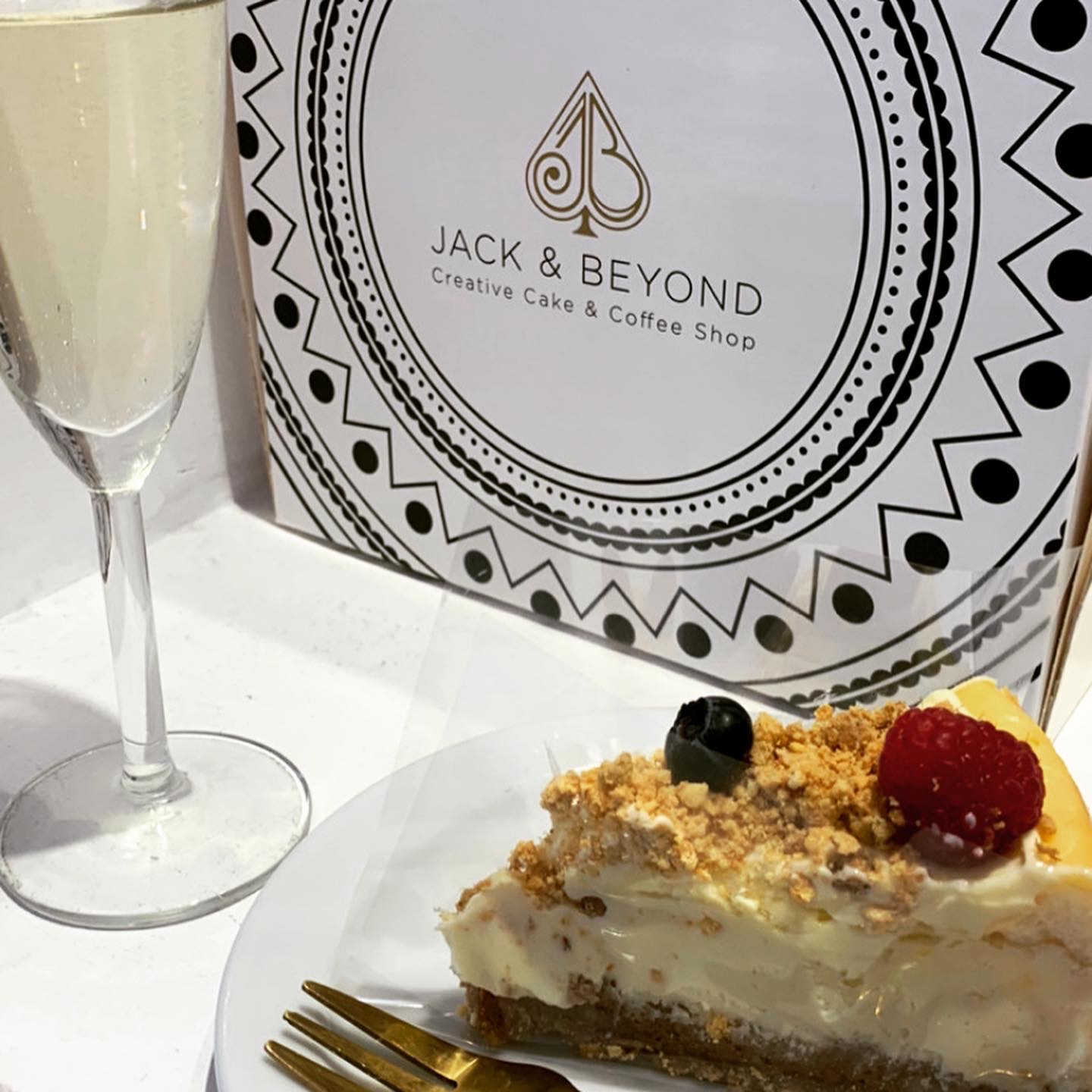 Afternoon Tea & Bottomless Cake Brunches at Jack and  Beyond - The cheesecake is the star of the show
