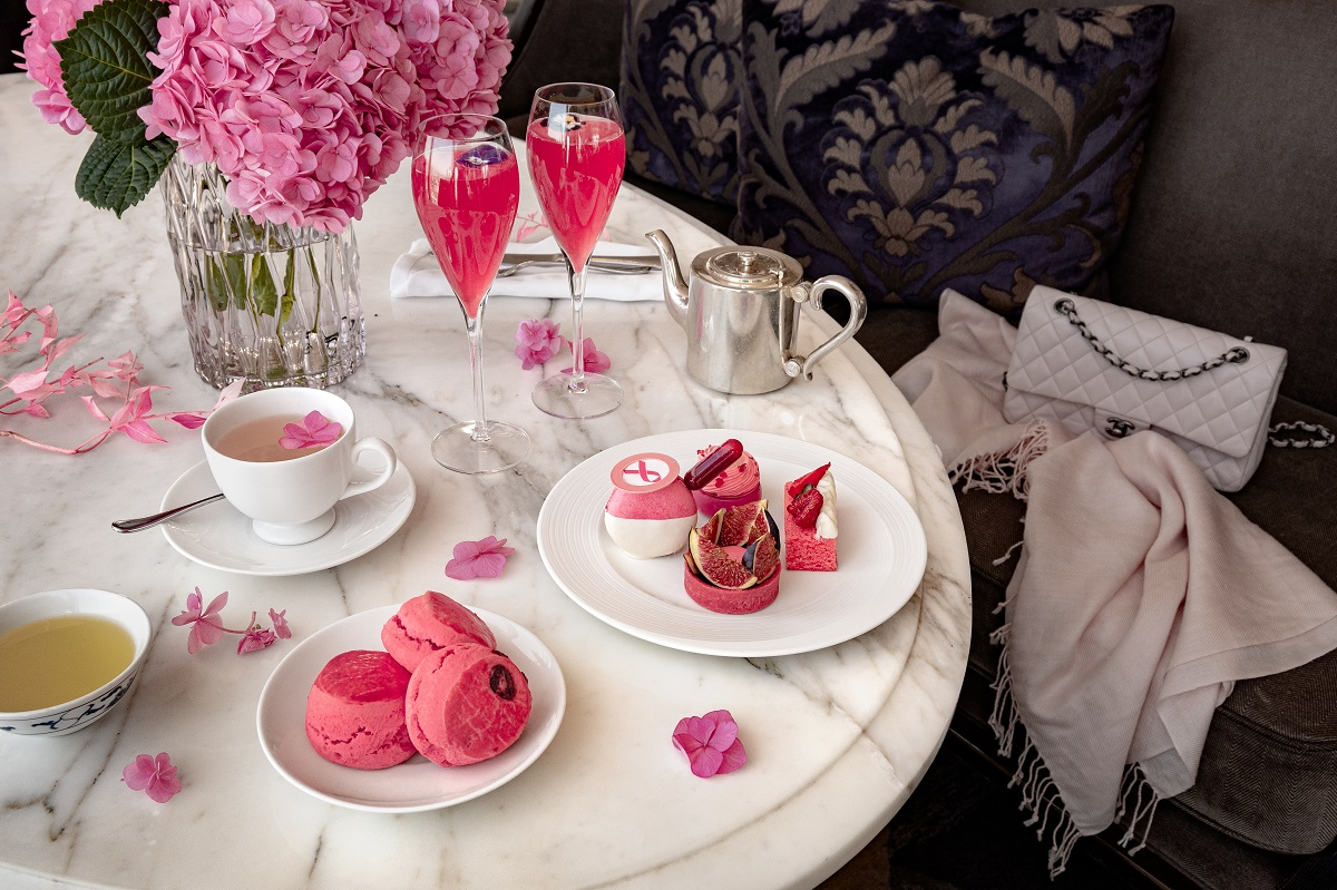The Luxe List October 2020 - Pink Afternoon Tea for Breast Cancer Awareness Month at Shangri-La Hotel at The Shard