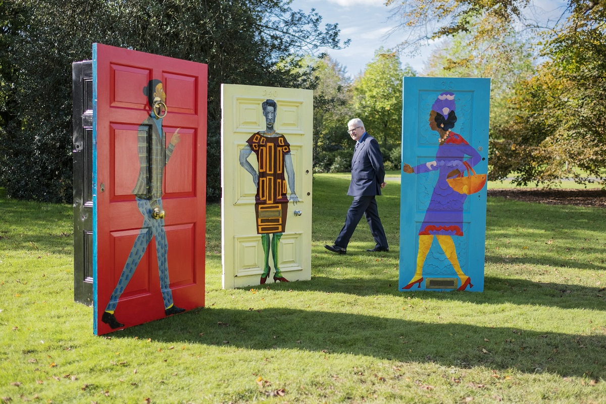 The Luxe List October 2020: Check out Frieze Sculptures in Hyde Park until 18th october (Photo Credit Linda Nylind)