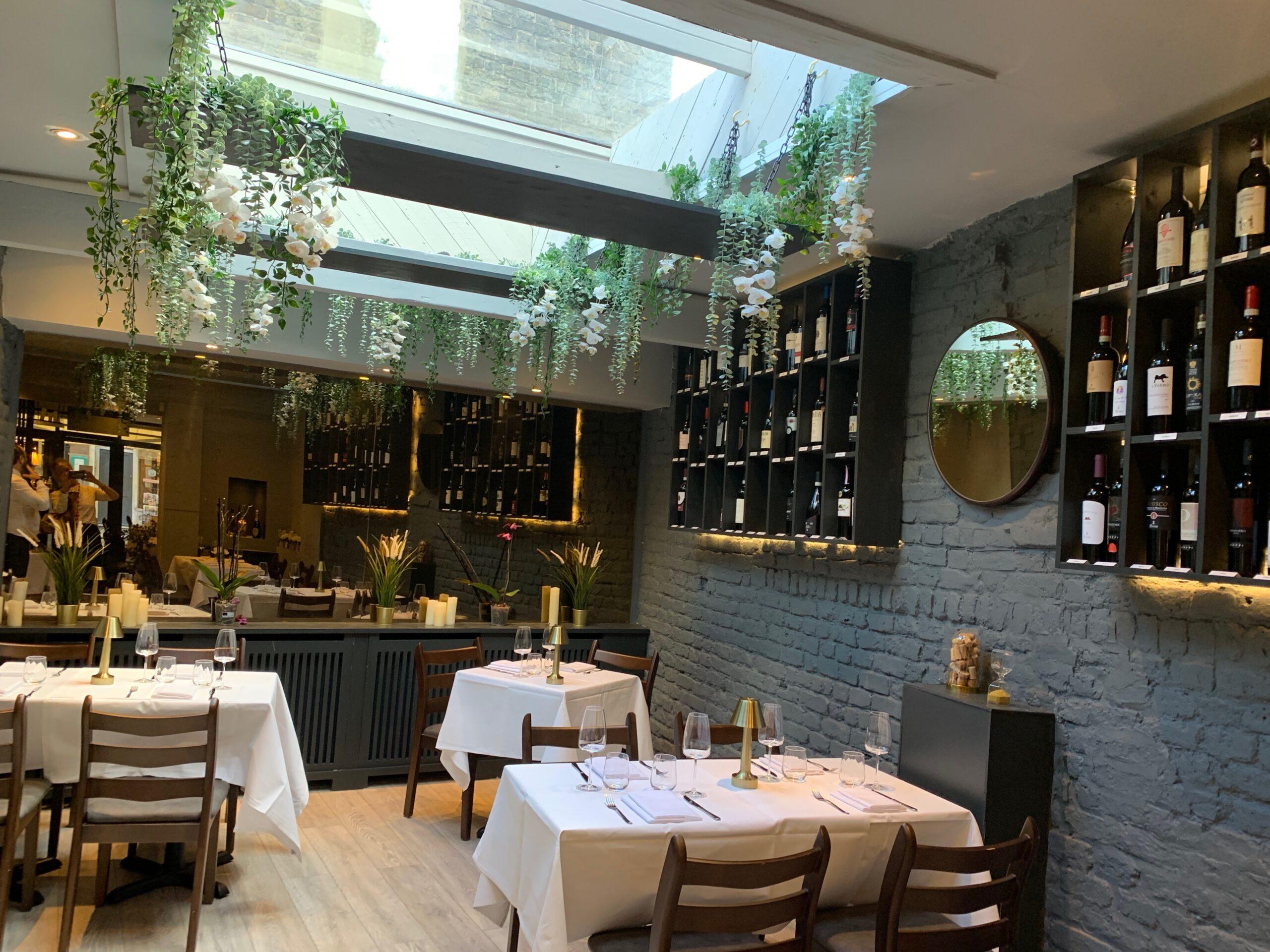 L'Artigiano - NEW Italian Fine Dining in Chelsea: Cosy, modern interiors