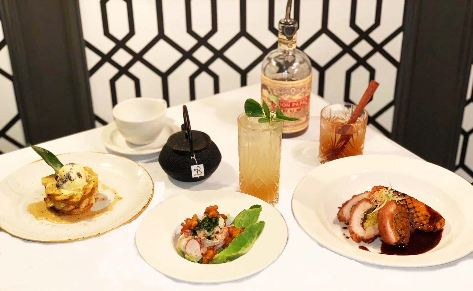 London Cocktail Month Must-Do's - Romulo Cafe & Restaurant's Special Sugarlandia Menu with Don Papa Rum Cocktails