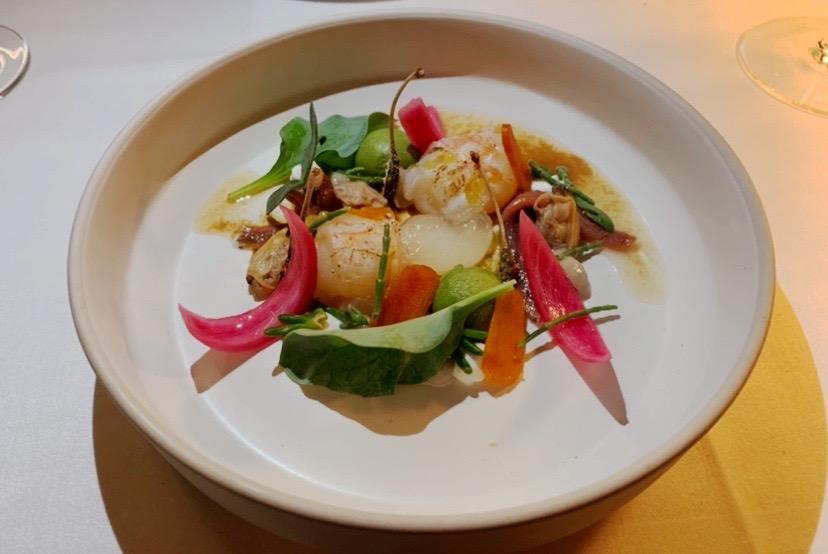 L'Artigiano - NEW Italian Fine Dining in Chelsea: The fresh zingy insalata di Mare £15.95 was the perfect palate cleanser