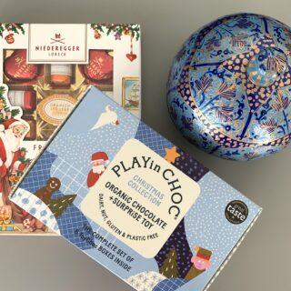 Selection of luxury chocolates