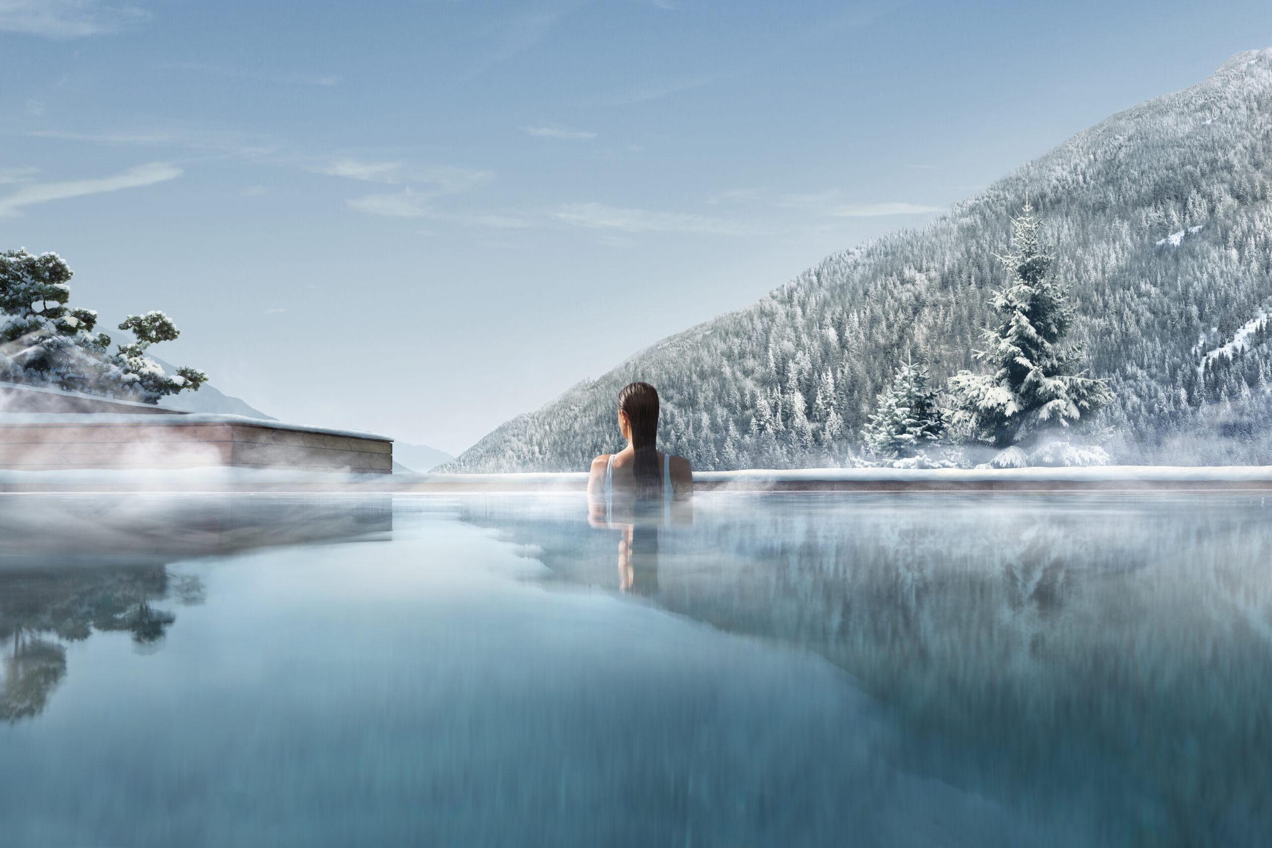 10 Best Retreats to have a Wellness Christmas & New Year - Lefay Resort & Spa Dolomiti, Italy