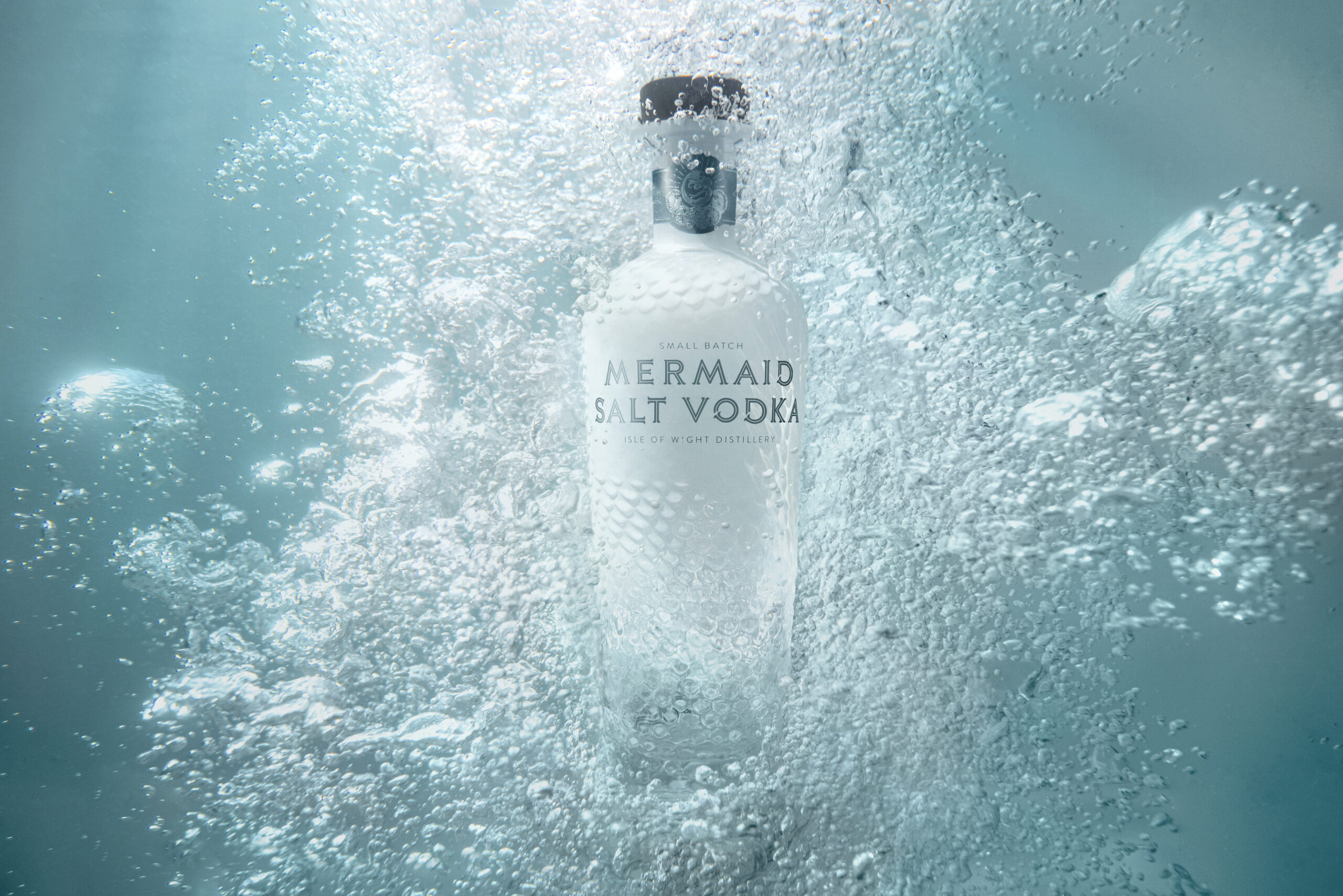 Produced by the Isle of Wight Distillery, Mermaid Salt Vodka is infused with locally sourced island sea salt