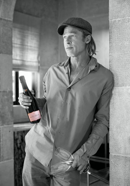 Maison de Champagne Fleur de Miraval - Brad Pitt Launches Fleur de Miraval Rosé