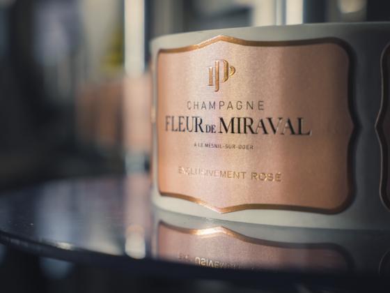 Maison de Champagne Fleur de Miraval - A First Look at Brad Pitt and Angelina Jolie's New Rosé Champagne