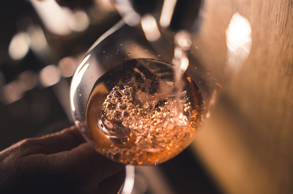 Maison de Champagne Fleur de Miraval - The exceptional colour of this Rosé champagne is obtained thanks to the expertise of two families – the Perrin family at Miraval and the Peters family of Champagne Peters - in method known as 'saignée'