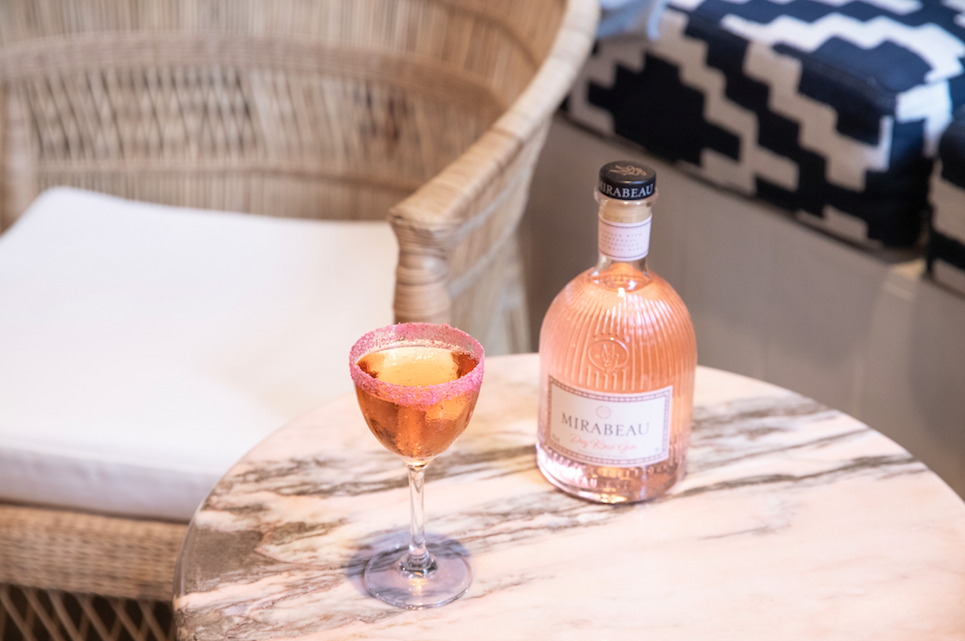Rosé Away the Days with Mirabeau en Provence for London Cocktail Month