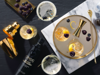The Luxe Bible Bumper Guide to the Coolest Vodkas Limited edition Black Raspberry CÎROC Vodka is infused with a blend of beautiful black raspberries which are just bursting with flavour!