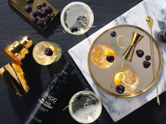 The Luxe Bible Bumper Guide to the Coolest Vodkas Limited edition Black Raspberry CÎROC Vodka isinfused with a blend of beautiful black raspberries which are just bursting with flavour!