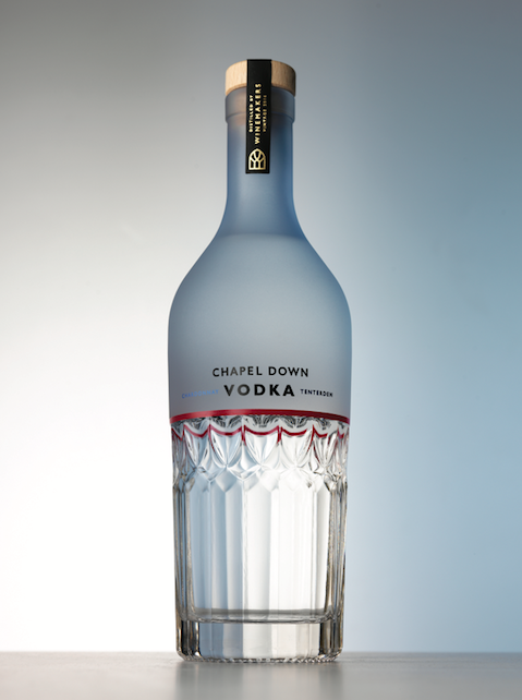 Chapel Down Chardonnay Vodka - Distilled Chardonnay grape skins from a single vintage year have been used to produce this limited edition, award-winning vodka