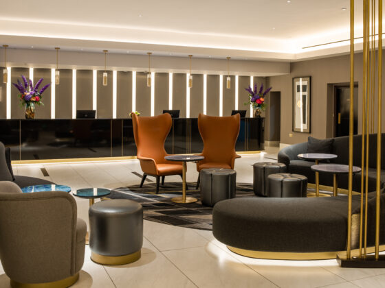 Having first opened its door in 1911, Strand Palace has had a multi-million pound refurb and boasts a stunning modern art-deco vibe