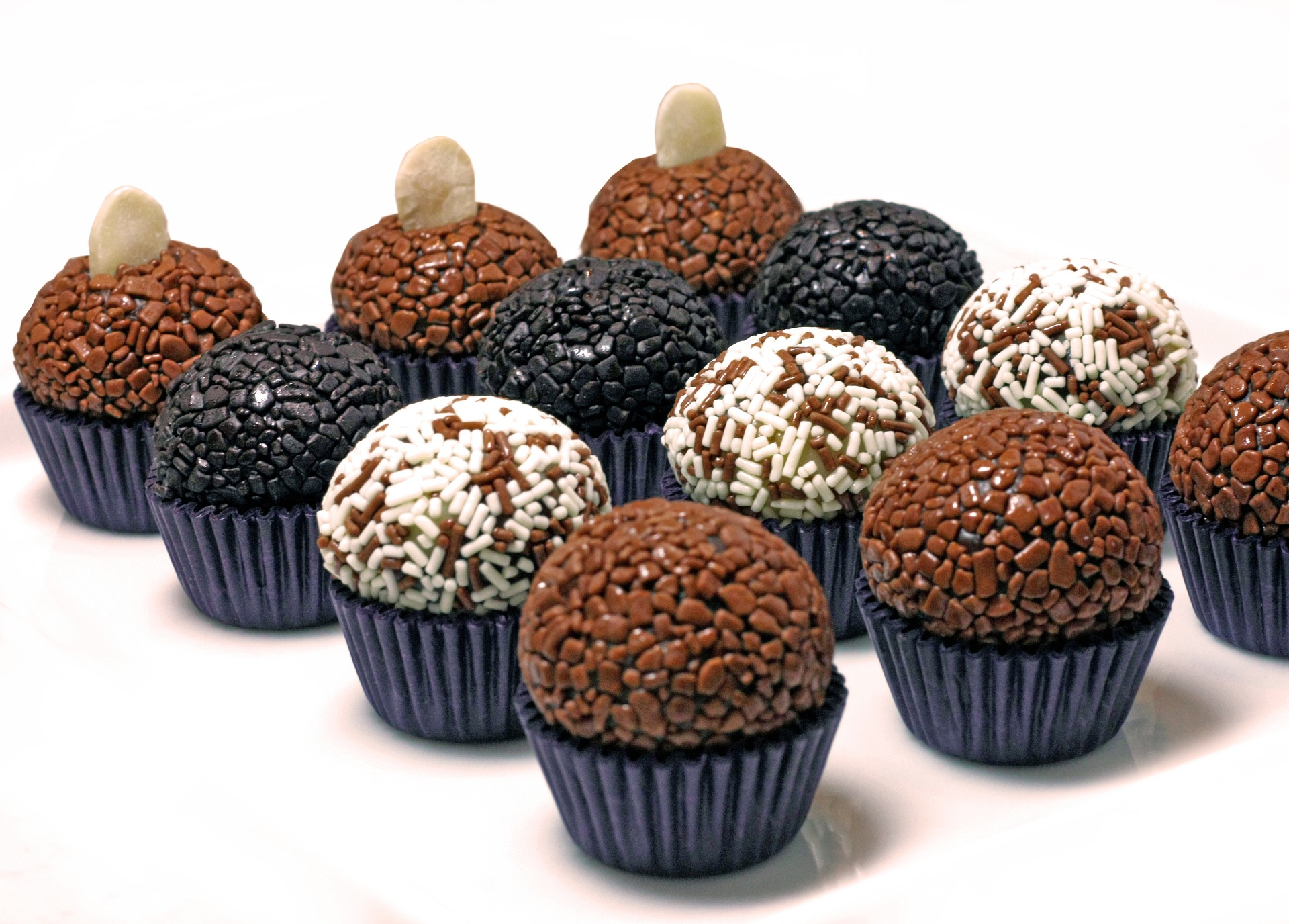 Country with The Top Most Instagrammable Food in the World: Brazil - Brigadeiro (Photo Credit Pixabay: lm2859)