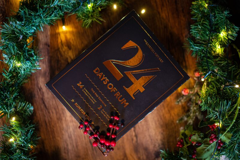 The 24 Days of Rum Advent Calendar is a luxurious collection of 24 x 20ml miniature rums from 24 different countries