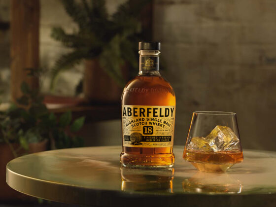 John Dewar & Sons' latest expression is the limited edition Aberfeldy 18 Years Old - A classic Scottish malt with a classy French twist!