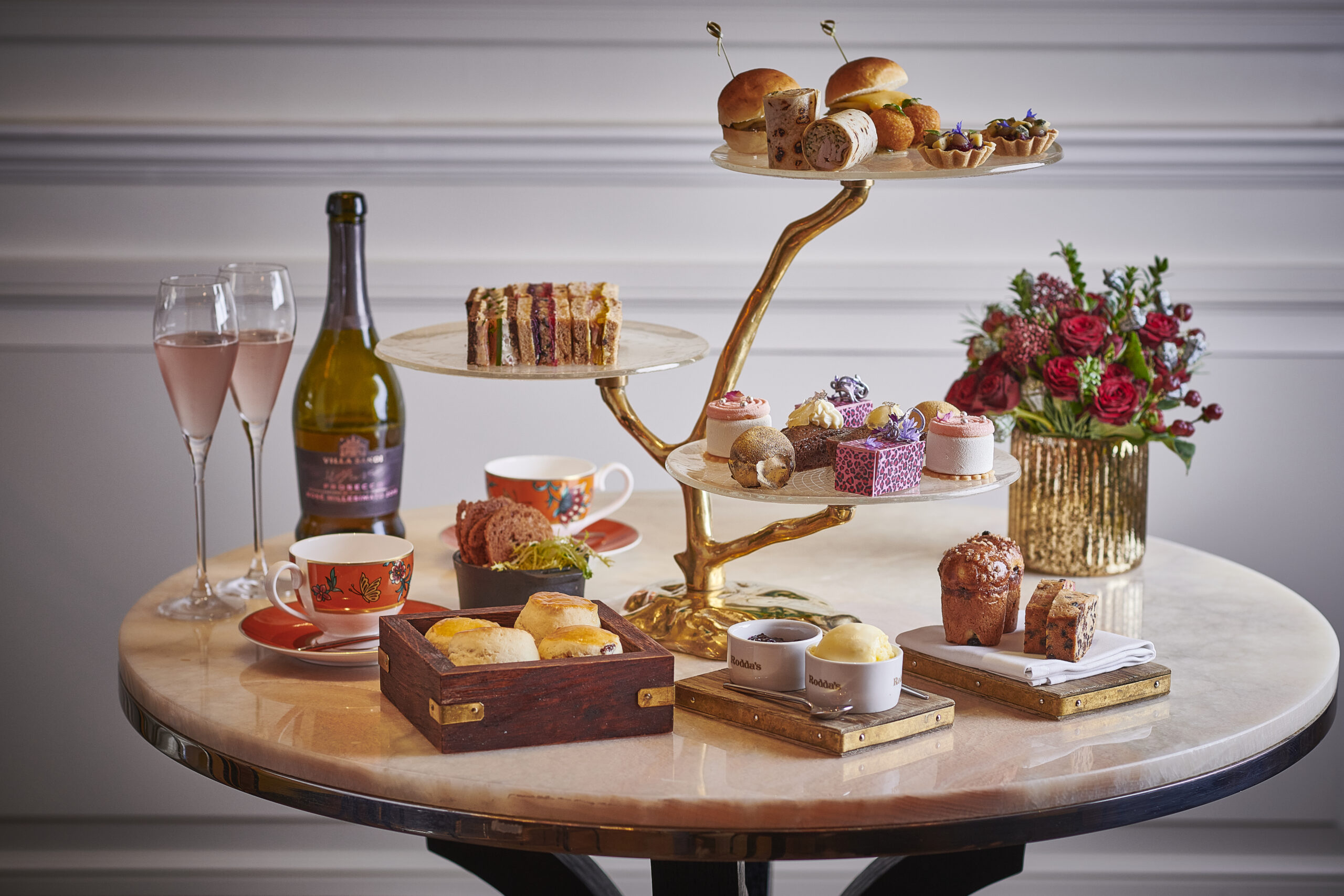 Luxe Bible's Favourite Festive Afternoon Teas: Pink Afternoon Tea at Adam Handling Chelsea