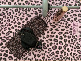 Luxe List: Christmas Gifts For Her: With Every Atom Leopard Print Yoga Mat £65