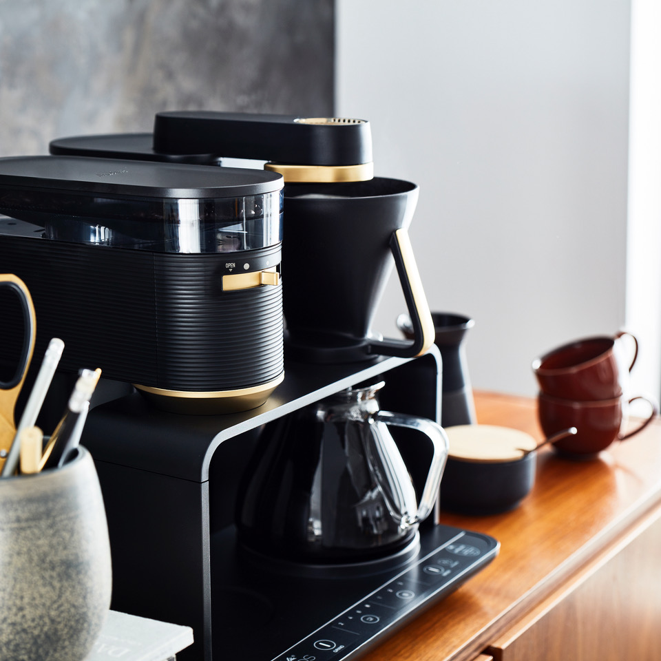 The Melitta EPOS is the first ever Electric, Pour, Over, System