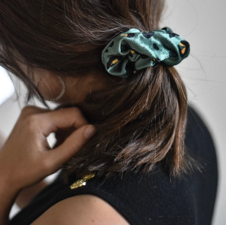 Top 5 Christmas Gifts from Coconut Lane - Khaki Leopard Scrunchie £5