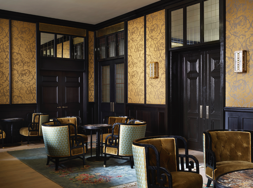 Magistrates Bar at the luxurious NoMad London in Covent Garden (Photo Credit: Simon Upton)