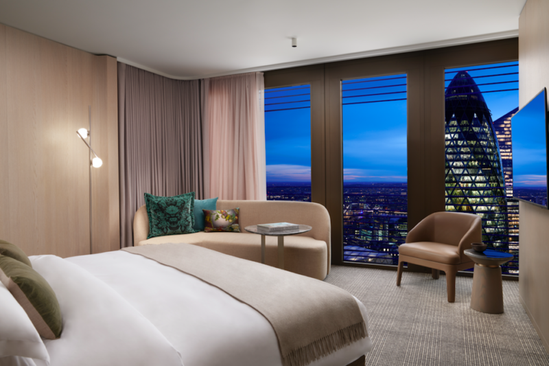 Pan Pacific London - Definitely one of 2021's hottest must-visit hotels in the capital complete with 18m infinity pool and incredible views (Photo Credit: Jack Hardy)