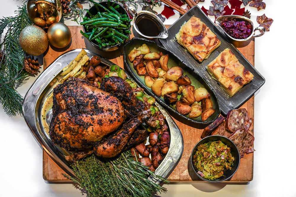 The Luxe List December 2020: If you can't make it to The Savoy this year, let The Savoy come to you with a turkey feast delivered to your door!