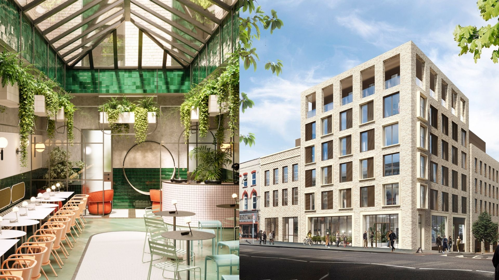 Kingsland Locke in Dalston will have 124 apartments, co-working space, on-site micro-brewery and gin distillery