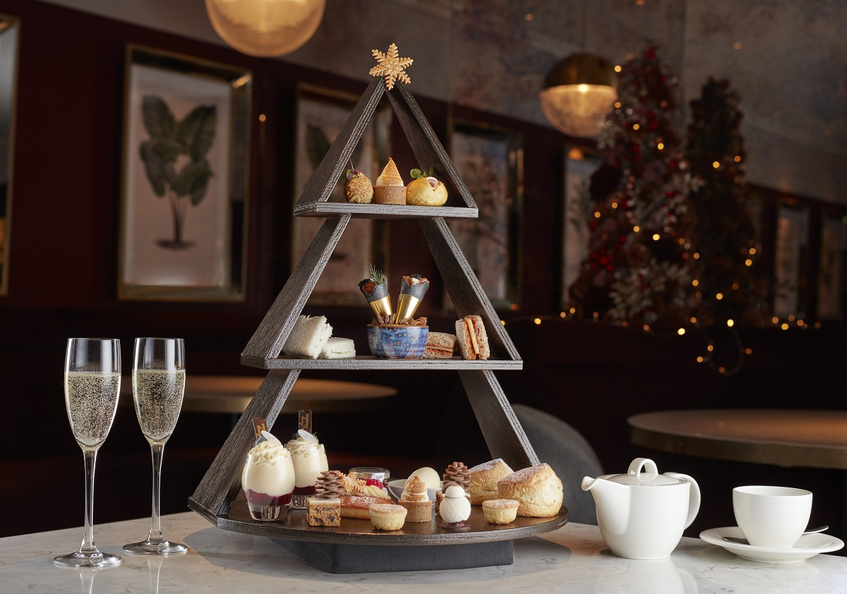 Luxe Bible's Favourite Festive Afternoon Teas: Strand Palace (Photo Credit: Jodi Hinds Food Photographer London)