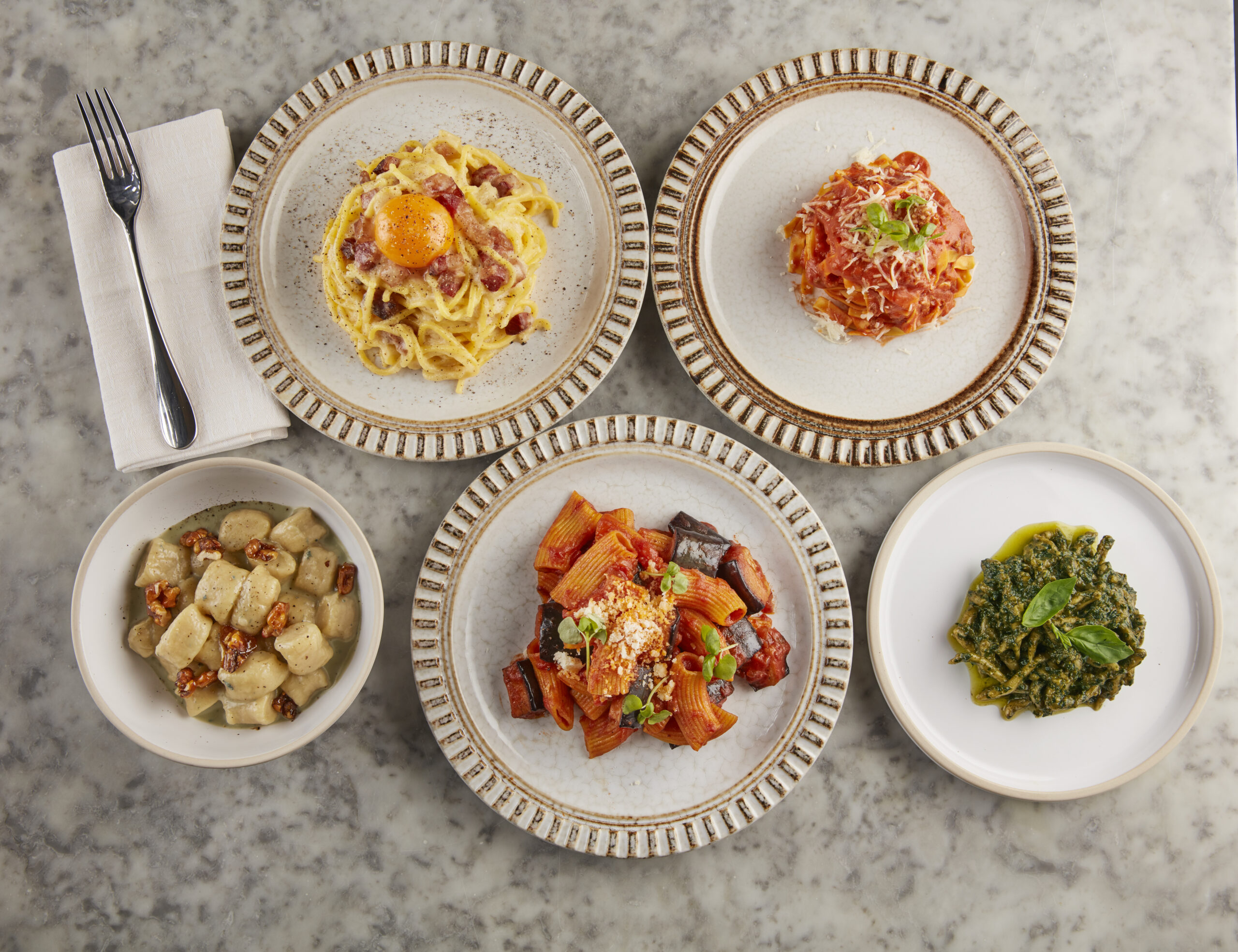 Brand New Must-Visit London Restaurants - Did somebody say fresh pasta?! Como Garden opens 7th Dec (Photo Credit & main - Jodi Hinds Food Photography)