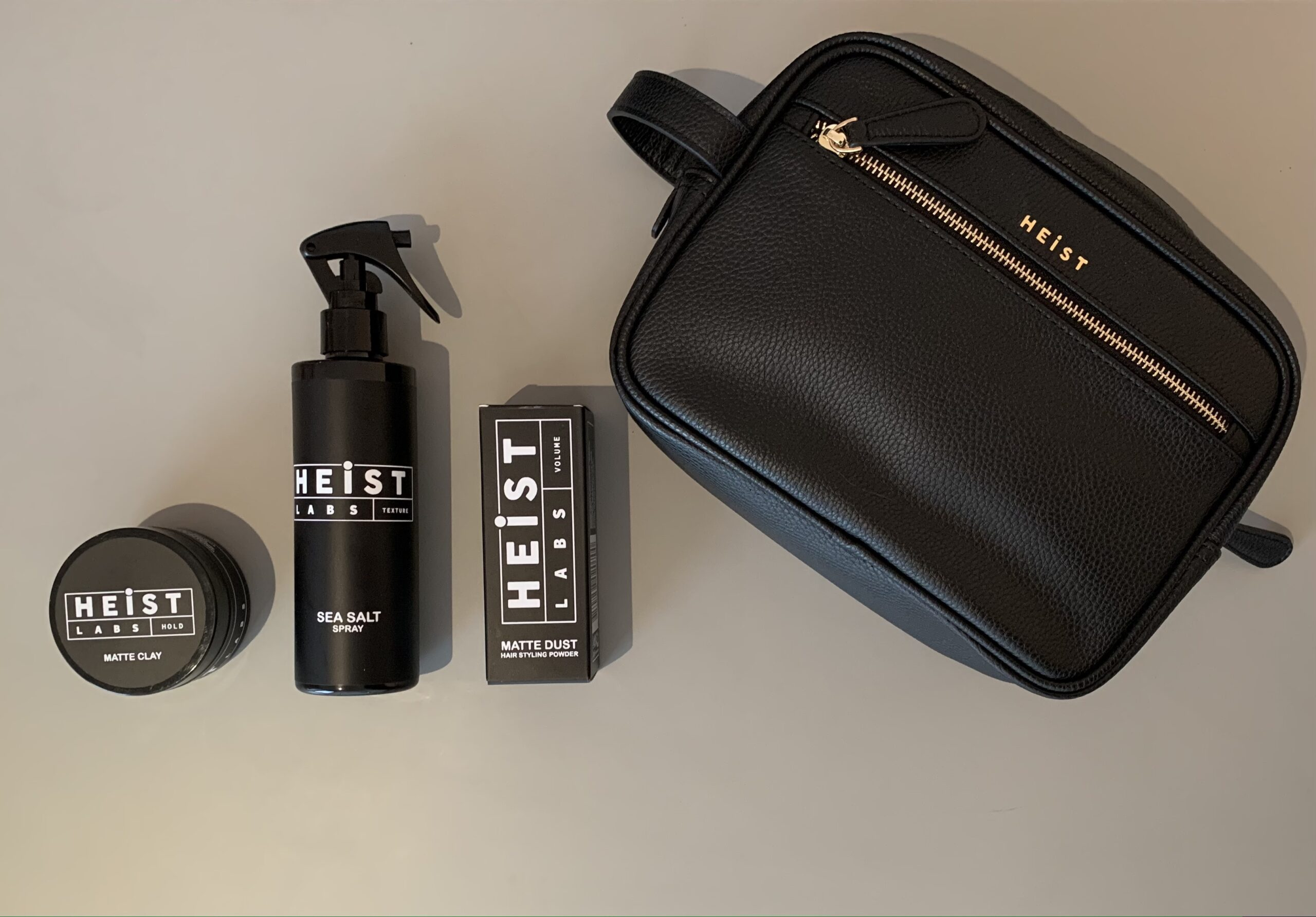The Lust List: Men's Grooming Products - Heist Styling Set by Heist Labs (Was £60, currently £50)