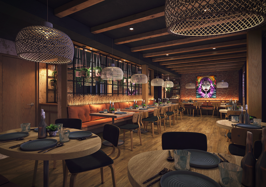 Brand New Must-Visit London Restaurants: A sneak peak at the brand spanking new Los Mochis opening in Jan - how cool?!