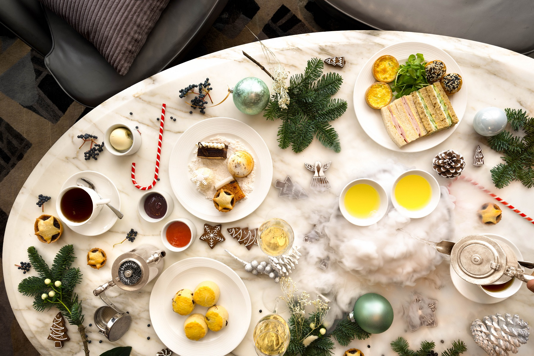 Luxe Bible's Favourite Festive Afternoon Teas: Apres Ski Tea at TĪNG at Shangri-La at The Shard
