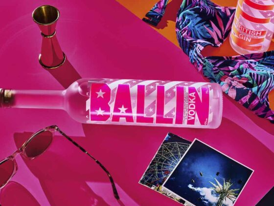 Super smooth, quadruple distilled and guaranteed to get the party started - we LOVE BALLIN
