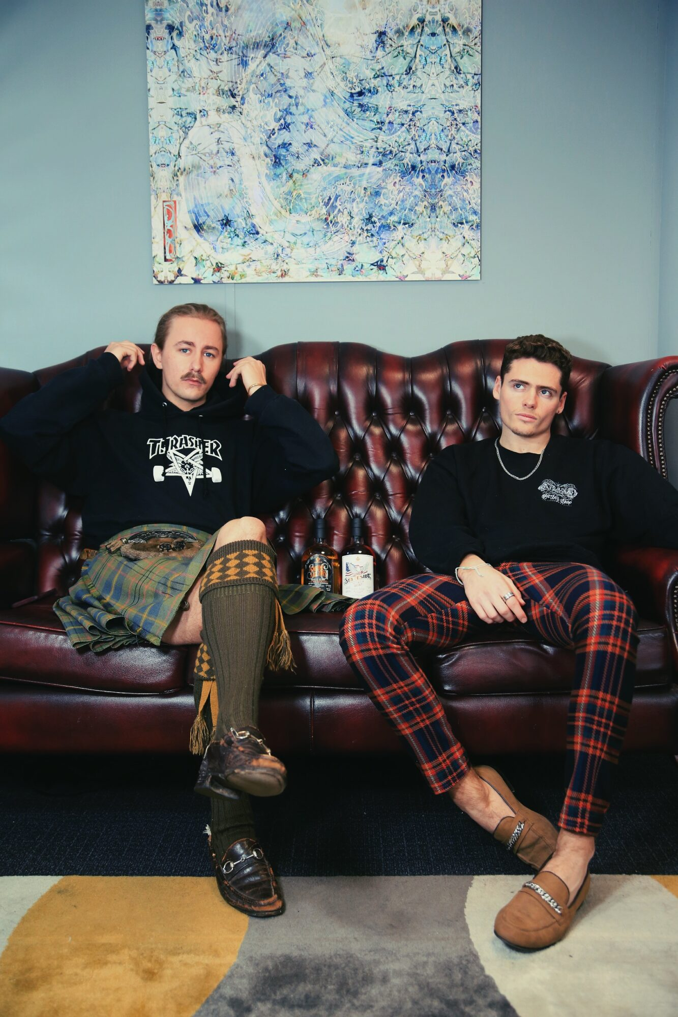 The Luxe List January 2021 - Anti-Burns Night Event from MIC's Freddie Browne and ex MIC's Angus Findlay