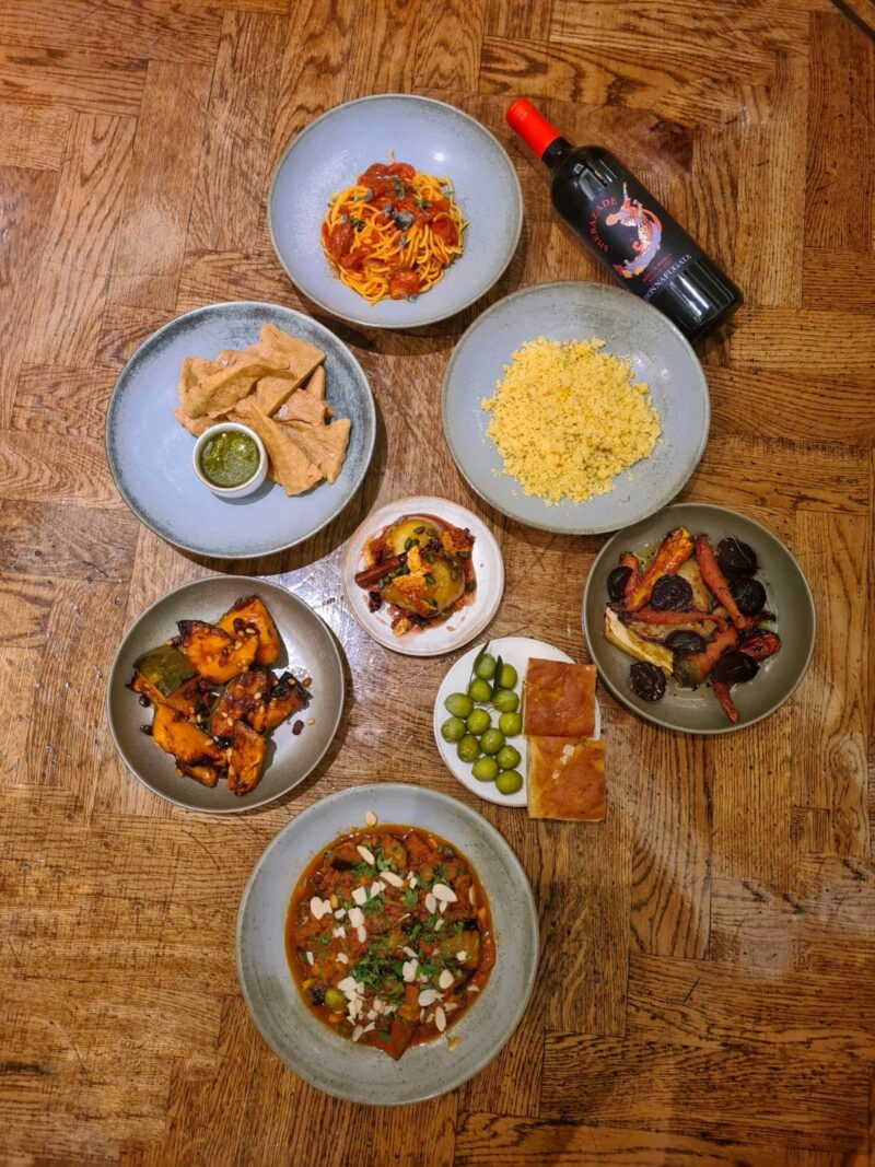 Veganuary Deliveries from your Fave Restaurants - Sicilian vibes with the Vegan at Home Feasting Box
