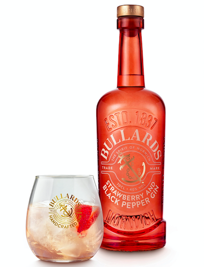 Forget Dry January & Go Pink Ginuary Instead - Bullards Strawberry and Black Pepper Gin