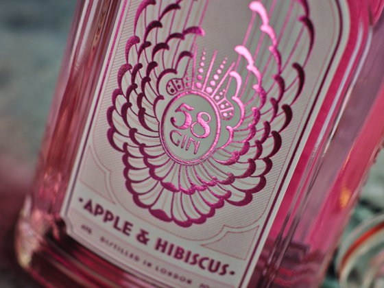 Forget Dry January & Go Pink Ginuary Instead - 58 Gin Apple & Hibiscus