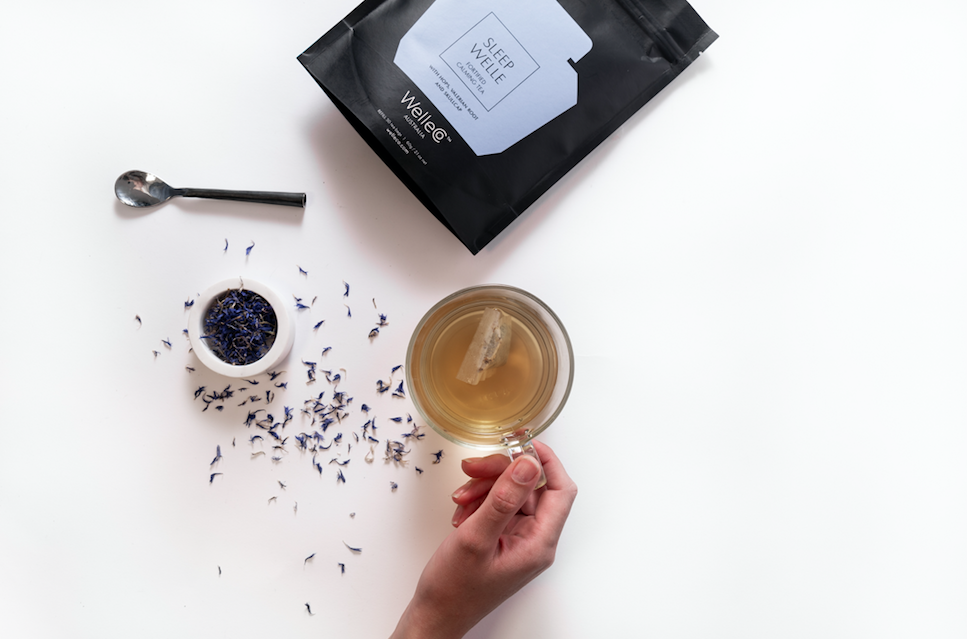 Gifts to Buy a Friend Who's Going Through Cancer Treatment - Sleep Well Calming Tea is an all natural concoction to still the mind, unwind and relax you