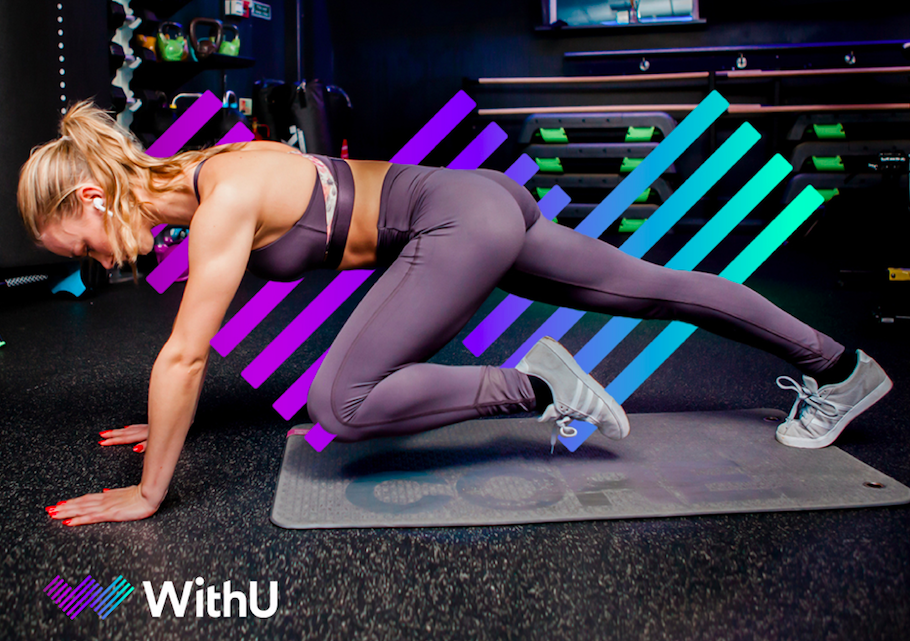 WithU's digital workouts are audio-led so you can spend less time staring at your laptop and more time working out!