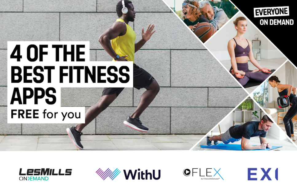 Work (Out) From Home With The Best Digital Workouts & Fitness Plans - Everything that the fitness world offers all in one place!