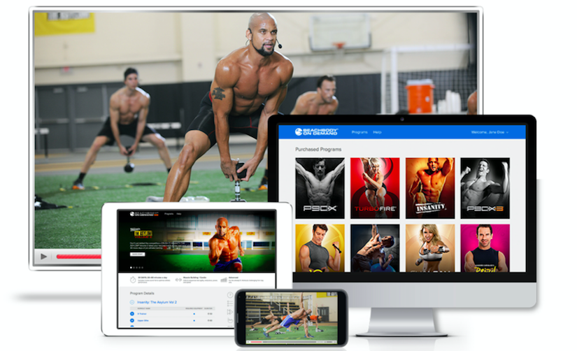 BeachBody on Demand digital workouts with everything from the 80 Day Obsession programme to PiYo, yoga, cardio and dance