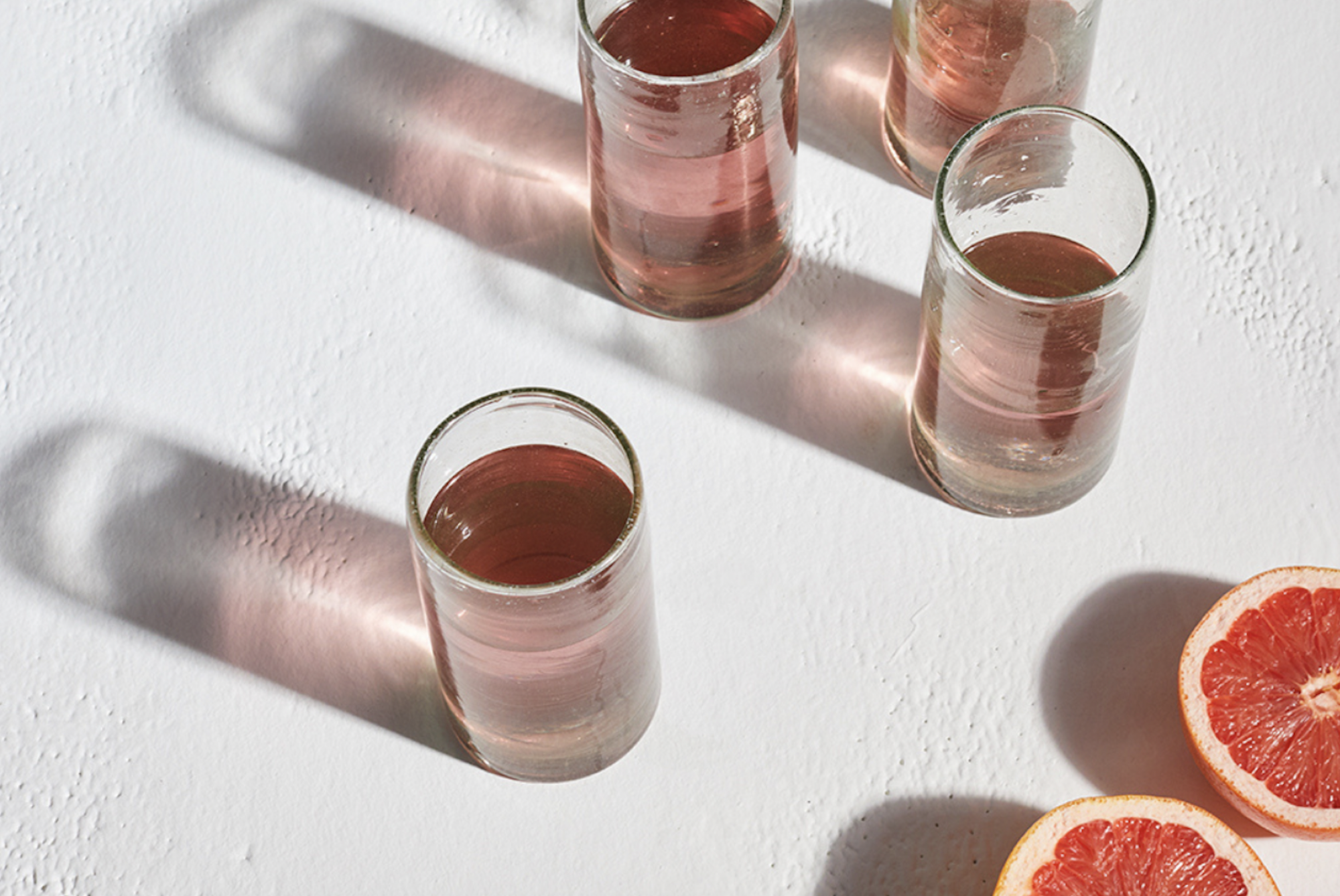 Bloody Mary, OJ or Bucks Fizz - serve up in these gorgeous Kalinko Zomi Tumblers for an extra special Valentine's Day breakfast
