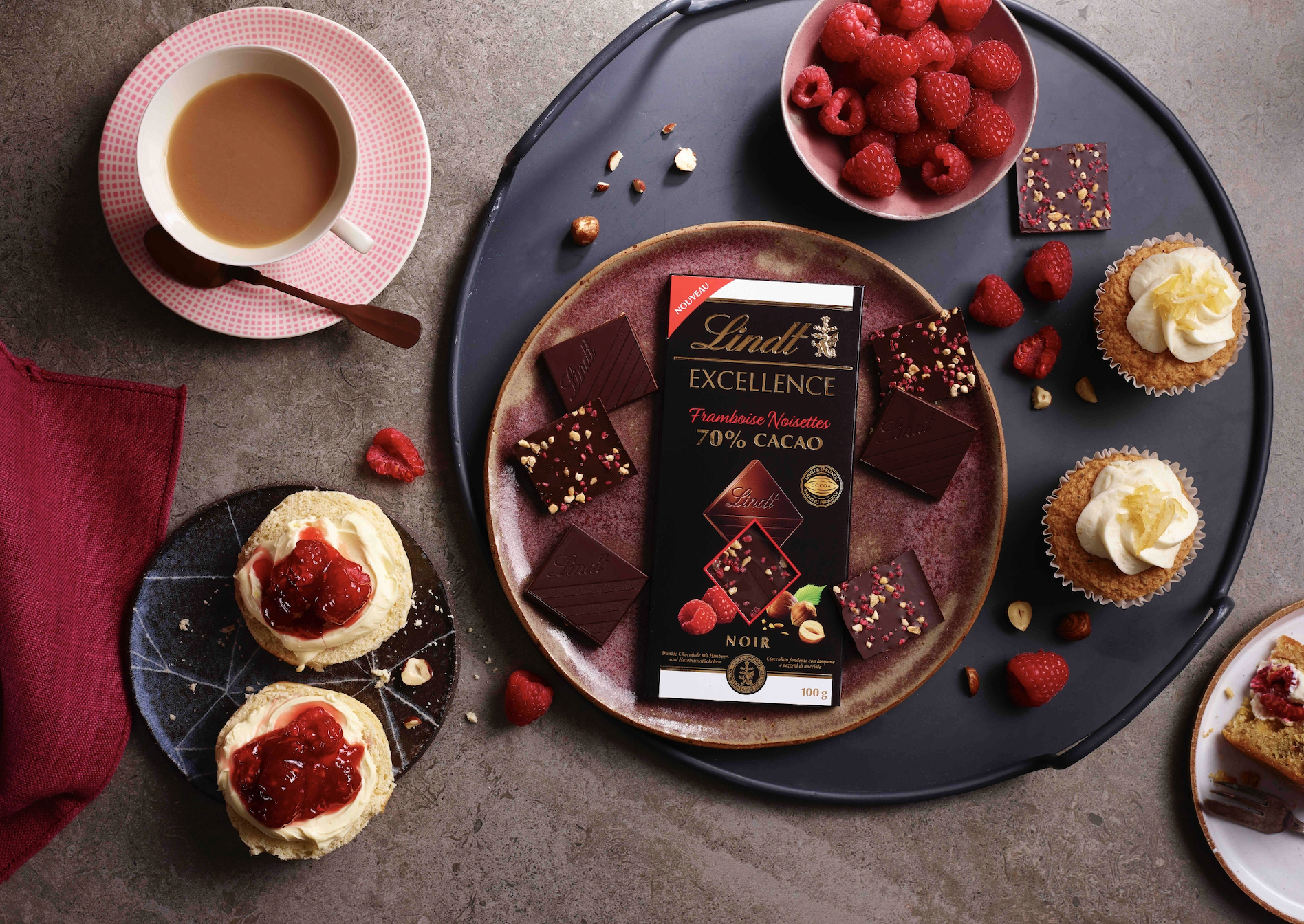 The LINDT EXCELLENCE Virtual Tasting Experience m makes a great gift and is available to buy online from 11th Feb