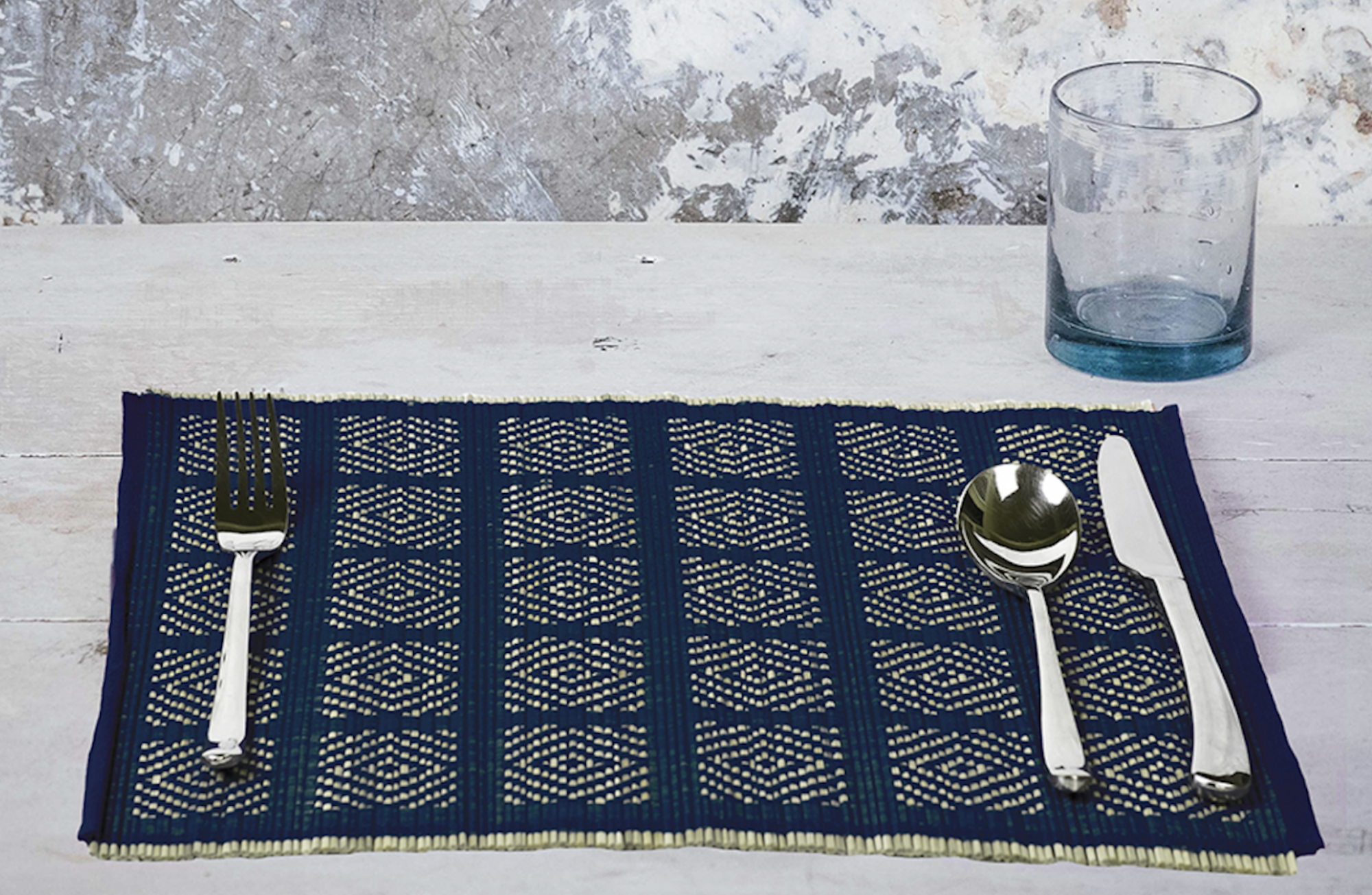 The Kalinko Kaya Placemats will add some style to your Valentine's Day breakfast!