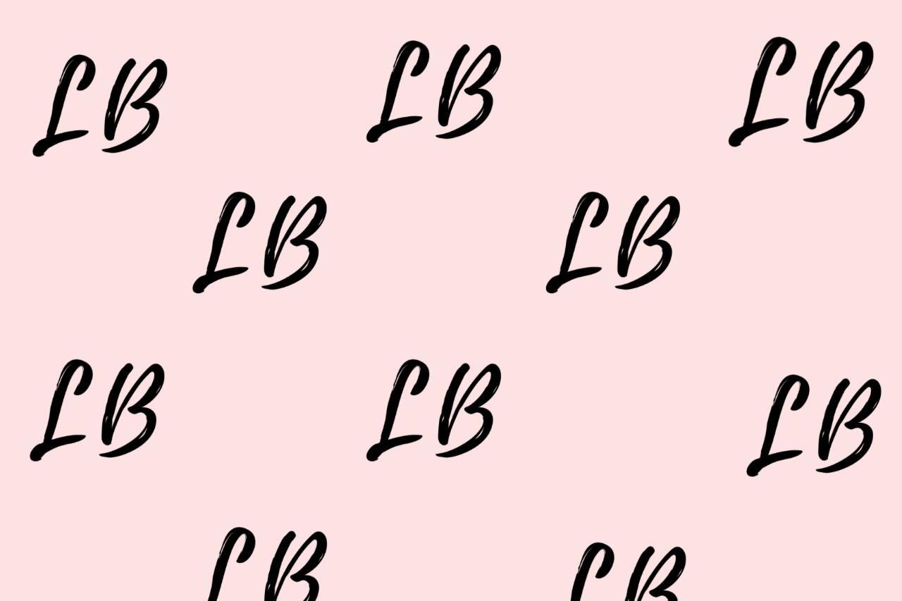 Luxe Bible LB logo multiple design