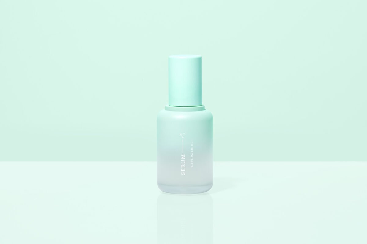 The bespoke serum is super nourishing with a gel-to-liquid-to-powder technology