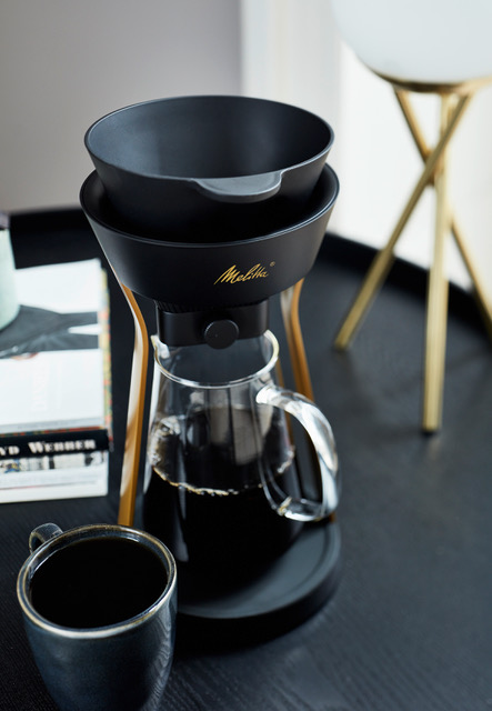 The Melitta Amano - This stylish bit of kit is just what your kitchen needs, although it's portable too!