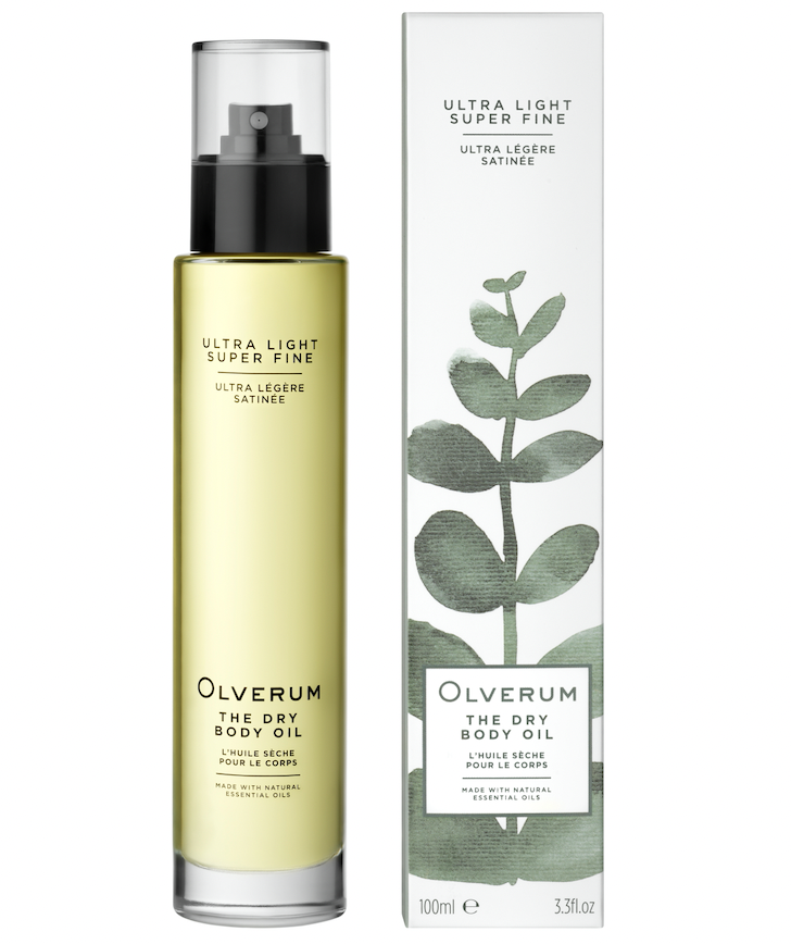 Olverum: The Dry Body Oil contains infusion of 30 essential and cold-pressed botanical oils including Alaria Esculenta